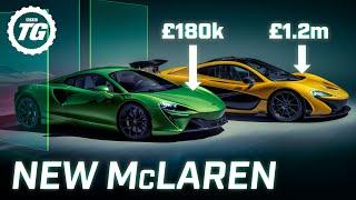 [Top Gear] FIRST LOOK: New McLaren Artura V6 hybrid supercar - a P1 for £1m less?
