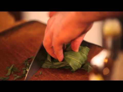 Wild Garlic, nettle & leef Hummus