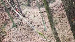 The Big E, a tricky sequence on Zulu Trail.