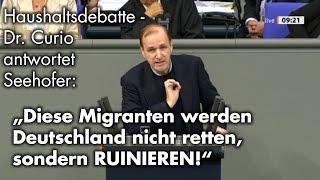 Rede im Bundestag zum Hauhshalt