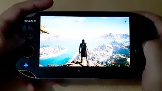 Assassins Creed Odyssey | PS Vita Gameplay | Remote Play PS4 Pro