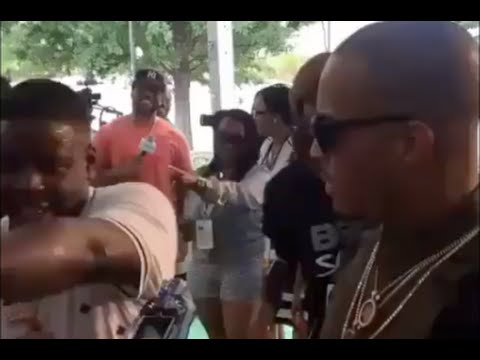 Blac Youngsta Explodes When Meeting T.I. At BET Hip Hop Awards Dabs Everything