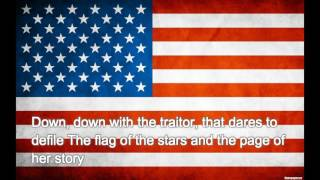 America national anthem - The Star-Spangled Banner (with lyrics)