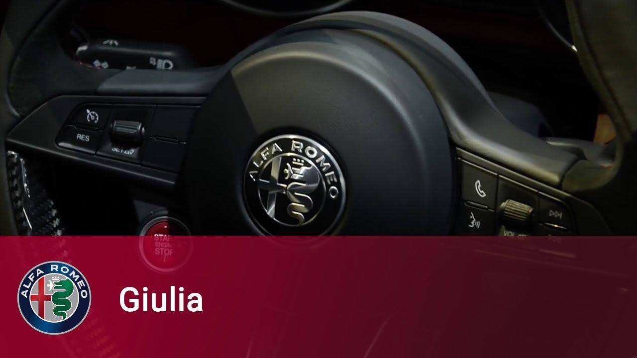 Alfa Romeo Giulia Quardrifoglio Interiors