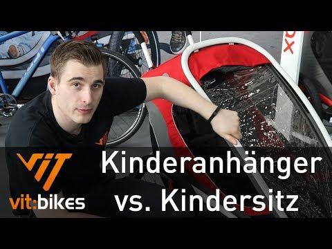 Der Vergleich! Kindersitz gegen Anhänger - Gibt es einen Gewinner? vit:bikesTV