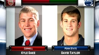 Kyle Dake vs David Taylor – 2012 NWCA All Star Classic