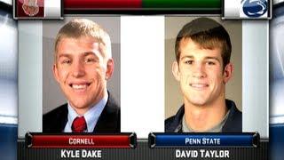 Kyle Dake vs David Taylor – 2012 NWCA All Star Classic