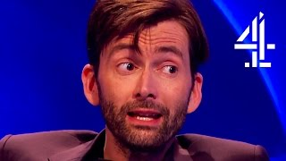 Дэвид Теннант, David Tennant Creeps Everyone Out With His English Villain Accent | The Last Leg
