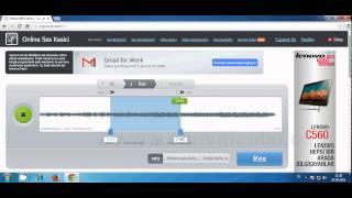 Online, MP3 Yada Ses Dosyası Parçalama Kesme Kaydetme