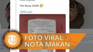 Foto Viral Tagihan Rp587 Ribu setelah Seorang Pria Makan di Tempat Wisata Boyolali