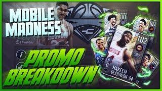 FULL BREAKDOWN OF THE NEW MOBILE MADNESS PROMO IN NBA LIVE MOBILE 19!!!