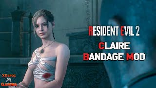 Resident Evil 2 Remake - Claire Sexy Bandage Mod