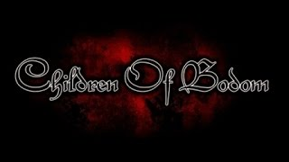 Children of Bodom - Talk Dirty To Me (Poison cover) Lyrics on screen