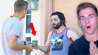 Knocking On Strangers Doors, Then Paying Their Rent