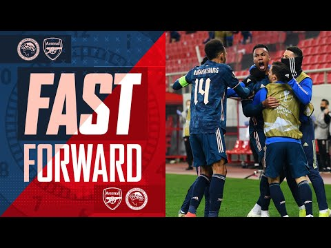 FAST FORWARD | All the goals drama tweets reactions & more to Arsenal vs Olympiacos