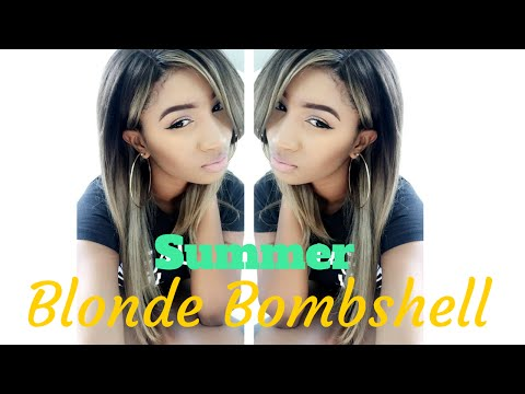 I loved the Ciara Ombre Honey Blonde Unit! This is how I styled it!