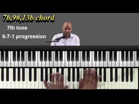 Gospel piano chords-  Gospel piano lessons