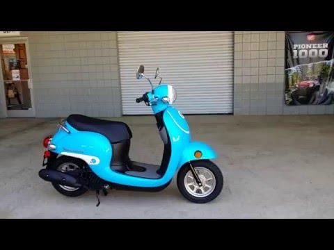 2016 Honda Metropolitan 50cc Scooter / Blue | Walk-Around Video | Review at HondaProKevin.com