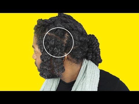 Buhok mask ng jojoba langis at ylang-ylang