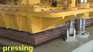 automatic quartz stone production artificial stone machinery