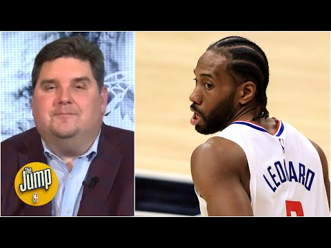 Brian Windhorst forecasts Kawhi Leonard's future with the LA Clippers | The Jump