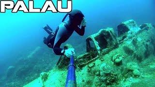 Seaplane Wreck   Freediving Palau   Jake Seaplane   GoPro