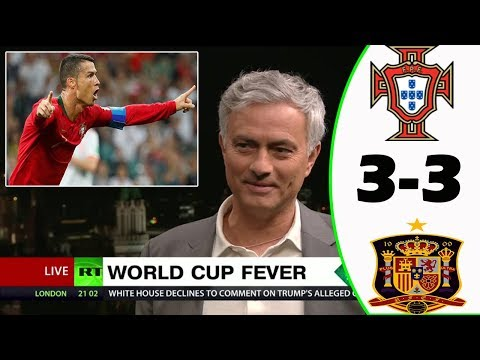 Portugal vs Spain - Post Match Analysis with Mourinho
