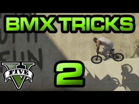 Sickest Way To Get Around In GTA V? Shredding On BMX Bikes!