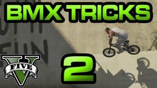 GTA V - BMX Tricks 2