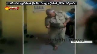 Police Cop Dance in Jail inTamilnadu   Suspended