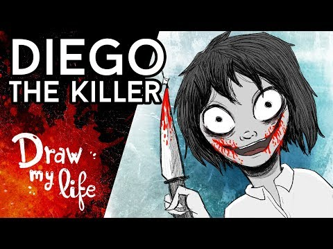 El OSCURO nacimiento de DIEGO THE KILLER - Draw My Life en Español
