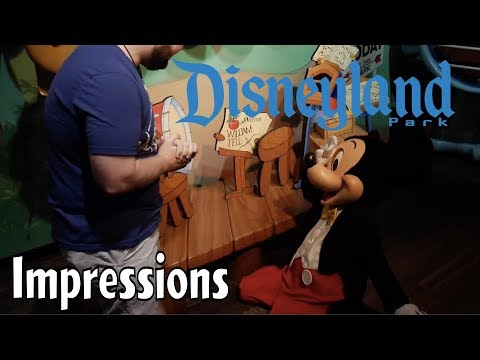 Mickey COLLAPSED After Hearing These Impressions!!- Disneyland Impressions