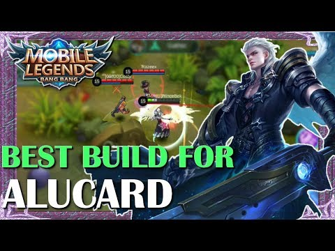 Mobile Legends Best Build In Any Situation For Alucard   Mythical Academy # 3