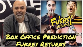 Box Office Prediction | Fukrey Returns