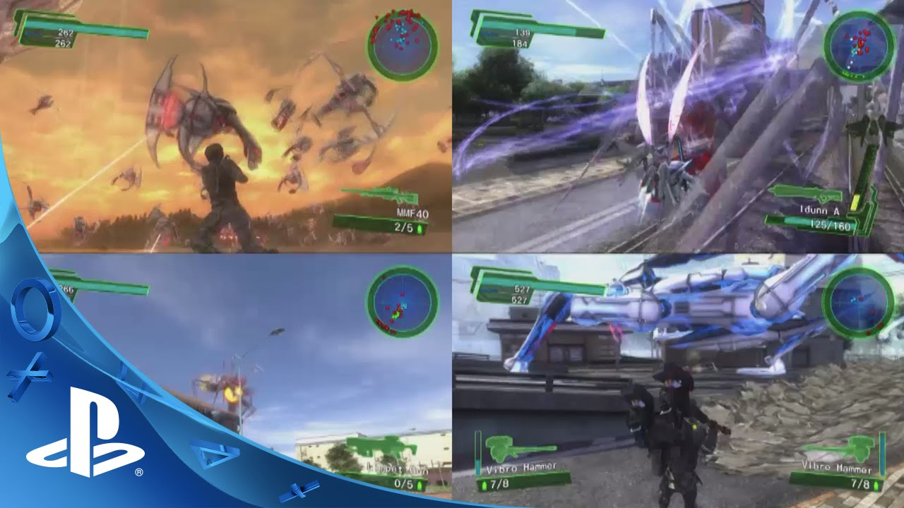 Earth Defense Force 4.1 and 2 Launch Today on PlayStation