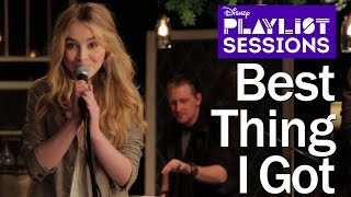 Sabrina Carpenter - Best Thing I Got (Acoustic)