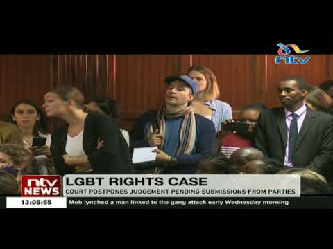 LGBT rights case: Court postpones judgement pending submissions from parties