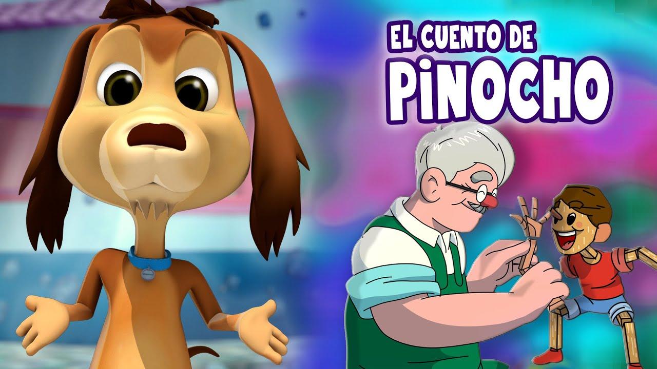 LOS CUENTOS DEL PERRO CHOCOLO: PINOCHO - AUDIOCUENTOS