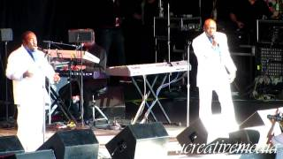 O'jays 'I want you here with me' LIVE @ KBLX Stone Soul Concert
