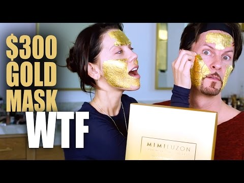 REAL 24K GOLD MASK ... WTF | First Impressions