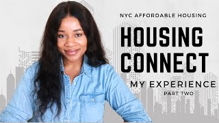 NYC | Affordable Housing Connect 2020 - Part II (Eligibility Notice? Wait List Notice?)