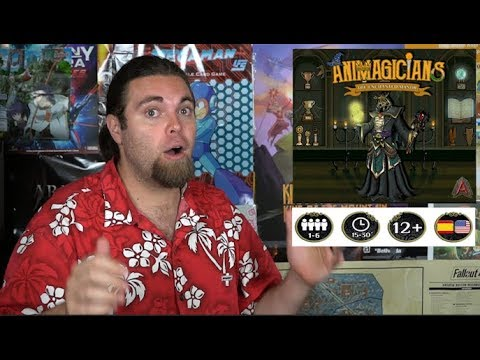 Animagicians - Board Game Review