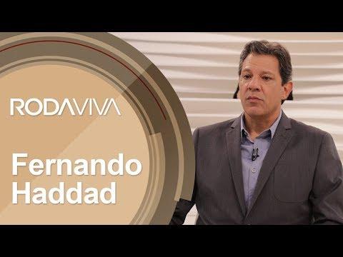 O Roda Viva promove uma entrevista com o candidato à Presidência da República pelo PT, Fernando Haddad.
