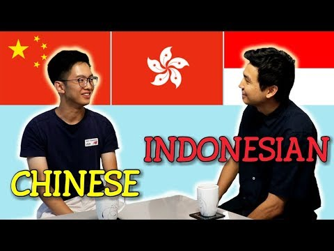 Language Challenge: Chinese Vs Indonesian