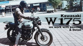 Kawasaki Tank W 175 – Dilan Ost – We Work with Passion and Detail – Motoblast