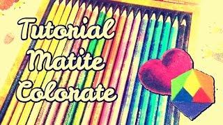 Come colorare con le matite colorate | Tutorial di disegno per principianti