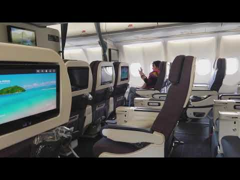 Philippine Airlines New A330-300 Tri-Class Airbus Premium Economy Seating Review
