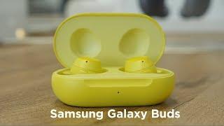 Распаковка Samsung Galaxy Buds / Беспроводные наушники по-новому