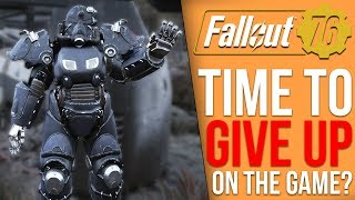 Can Bethesda Fix Fallout 76?