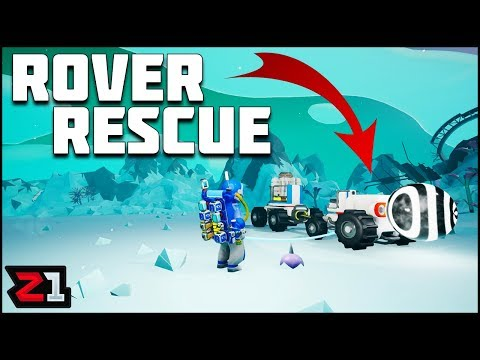 Rover Rescue Mission and Update Planning ! Astroneer Gameplay | Z1 Gaming